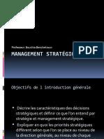 Management stratégique (1)