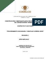 Rev.2 Soldadura y montaje HDPE