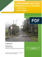 informe de cumplimiento granja avicola san telmo PDF