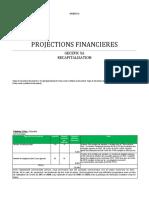 Projections financières 1