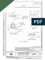 AS85052_2B-CLAMP, LOOP TUBE 17-7PH, CRES, 275 °F, PHOSPHATE ESTER FLUID RESISTANT