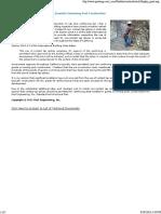 Contact Lap Splices in Shotcrete (Gunite) Swimming Pool Construction