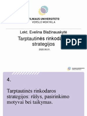 universiteto strategijos ppt