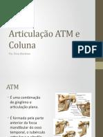 Articulação ATM e Coluna.pptx