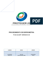P-EO-02 Procedimiento  de Espirometria
