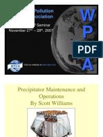 11) Precipitator Maintenance and Operations