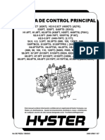 VÁLVULA DE CONTROL PRINCIPAL