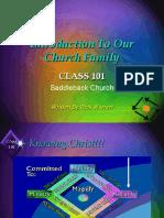CLASS 101 Power Point