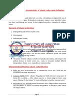 10. Islamic Culture & Civilization (1)