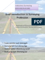 Lecture 1-Brief Introduction in Surveying Profession