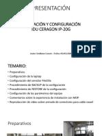 INSTALACIÓN Y CONFIGURACIÓN IDU CERAGON.pdf