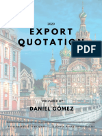 Export quotation