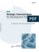 WB Strategic Communication for Project Leaders