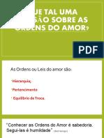 as ordens do amor 2