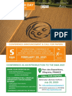 SIMA AgriTech Day 2021 Call for Paper