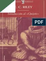 Introducción al Quijote. E. C. Riley. Ed. Crítica