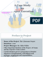 case analysis answer in project execution