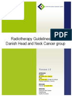 Head and Neck Cancer Radiotherapy Guidelines 2019 - DAHANCA