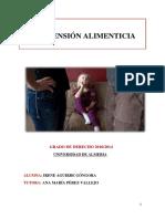 Tfg. Pension Alimenticia IRENE AGUIRRE Junio 2016 PDF