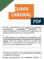 Clima Laboral Diseño de intrumento