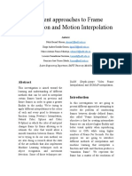 Different approaches to Frame Interpolation and Motion Interpolation.docx