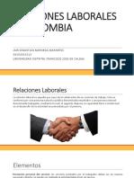 RELACIONES LABORALES EN COLOMBIA