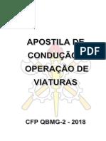APOSTILA DE CONDUÇÃO DE VEÍCULOS DE EMERGÊNCIA