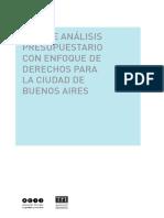 Guía de análisis presupuestario con enfoque de derechos