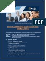 Modelo CARTA DE BIENVENIDA CMAC Arequipa