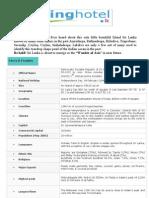 SriLanka Fact File Booking Hotel Ver1 2011