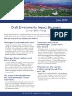 LPP Draft EIS Summary of Key Findings