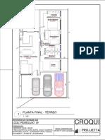 Buganville QDL20  - Residencial - (SALA FRENTE COZINHA FUNDO)
