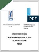 A.2 Gambar DED Final Sistem Penyediaan Air Bersih