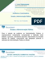 Estado e Administração Pública