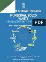 Municipal Solid Waste Management -III