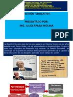 2.- GESTIÓN EDUCATIVA - DIMENSIONES (1)