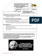 GUIA DE APRENDIZAJE lectura crítica 10 1ra parte