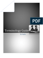 Terminology Guide by Sepha