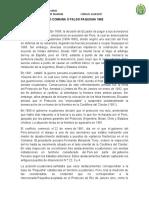 CONFLICTO DE ALTO COMAINA O FALSO PAQUISHA 1982
