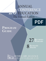 2020 Annual Conference Education