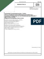 [DIN EN 61784-3-3_2012-03] -- Industrielle Kommunikationsnetze - Profile - Teil 3-3_ Funktional sichere Übertragung bei Feldbussen - Zusätzliche Festlegungen für die Kommunikations