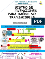 REGISTRO DAÑOS NO TRANSMISIBLE
