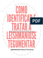 Como identificar e tratar a leishmaniose tegumentar