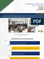 Informe de Gestión - Capacitacion y Desarrollo 14 - 27 Agosto.pptx