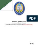 MEd Curriculum 2nd Draft.docx