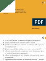 SESION 9.1 _EVALUACION DE LA MOLIENDA DE MINERALES