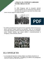 LA GUERRA DEL CHACO, EL CONFLICO ARMADO