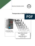 PMA-TB40-1-TemperatureLimiter-Manual-English-9499-040-93411