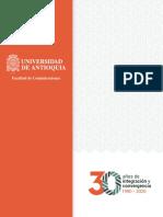 Historia Facultad Comunicaciones - 30 Años