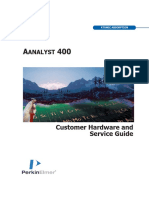 09931150A AAnalyst 400 Customer Hardware and Service Guide